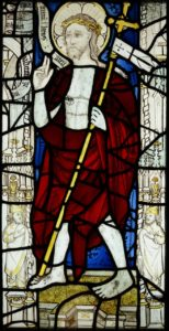 stained glass window, All Saints